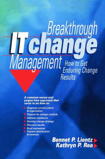Breakthrough IT Change Management book cover