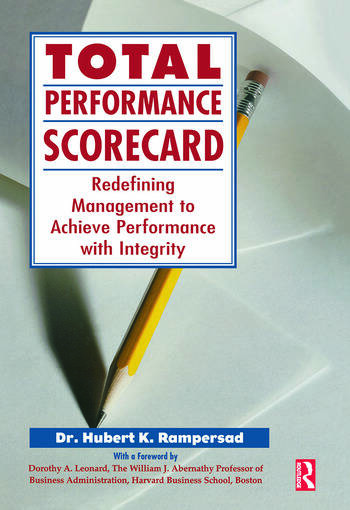 Total Performance Scorecard book cover