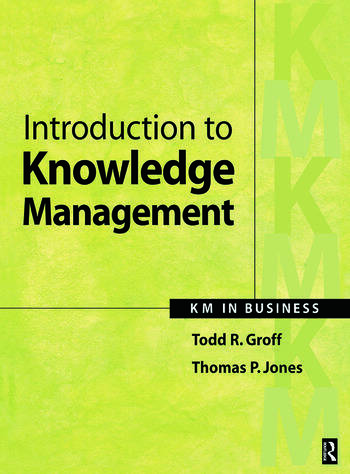 Introduction to Knowledge Management book cover