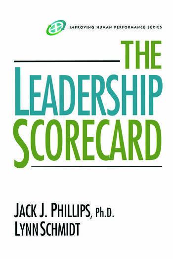 The Leadership Scorecard book cover