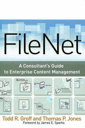 FileNet book cover