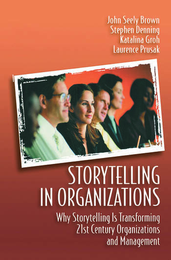 Storytelling in Organizations book cover