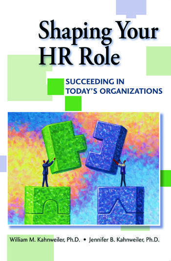 Shaping Your HR Role book cover