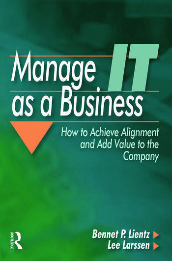 Manage IT as a Business book cover