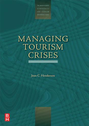 Managing Tourism Crises book cover