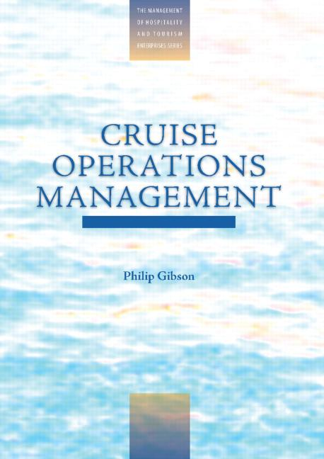 Cruise Operations Management Hospitality Perspectives book cover