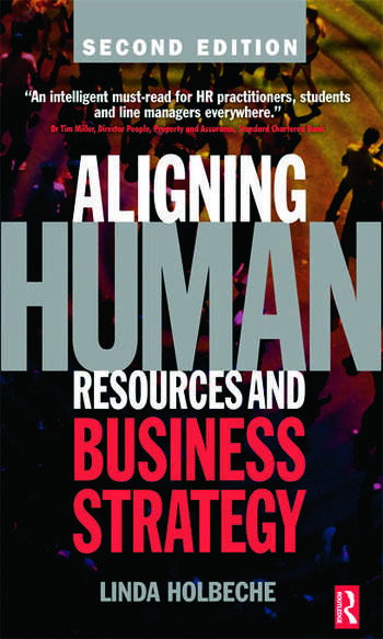 Aligning Human Resources and Business Strategy book cover