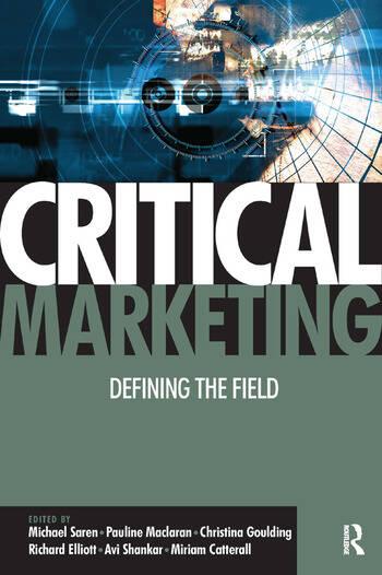 Critical Marketing book cover