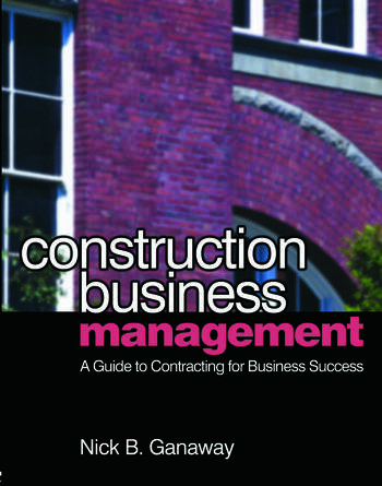 Construction Business Management book cover