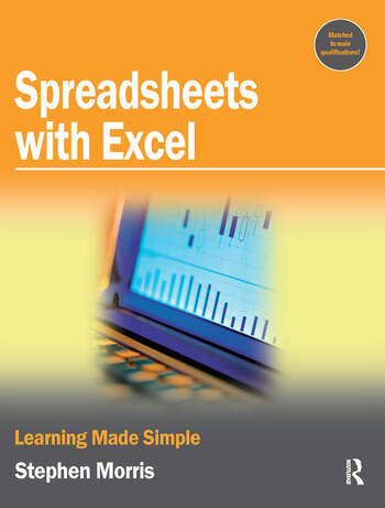 Spreadsheets with Excel book cover