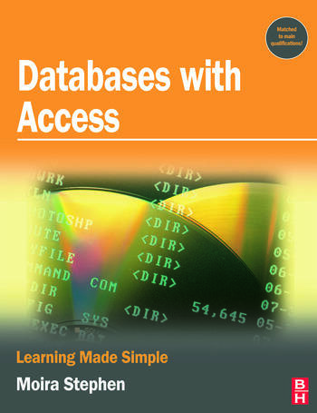 Databases with Access book cover