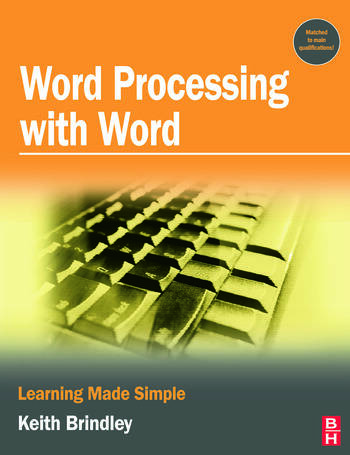 Word Processing with Word book cover