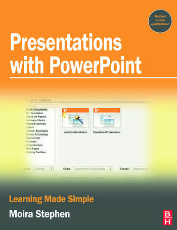 Presentations with PowerPoint book cover