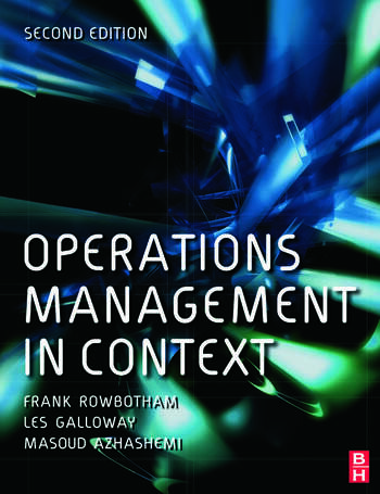 Operations Management in Context book cover