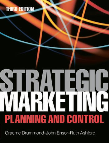 Strategic Marketing Planning and Control Plannning and Control book cover