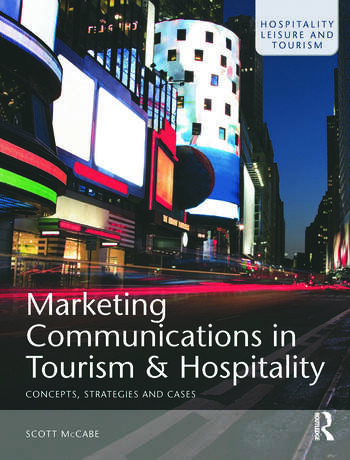 Marketing Communications in Tourism and Hospitality book cover
