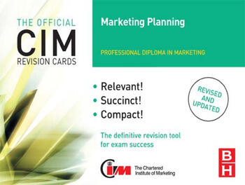 CIM Revision Cards Marketing Planning book cover