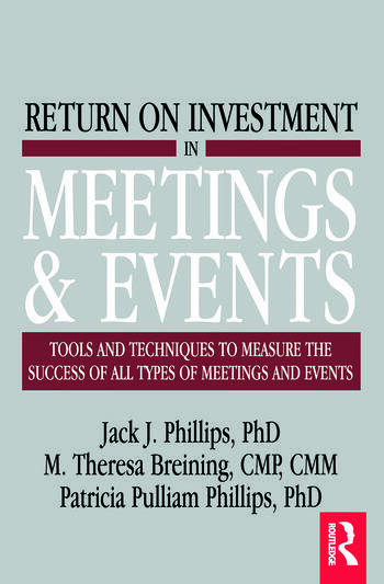 Return on Investment in Meetings & Events book cover