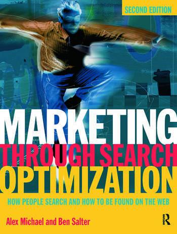 Marketing Through Search Optimization book cover