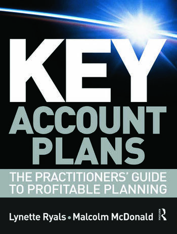 Key Account Plans book cover