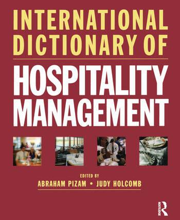 International Dictionary of Hospitality Management book cover