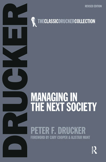 Managing in the Next Society book cover