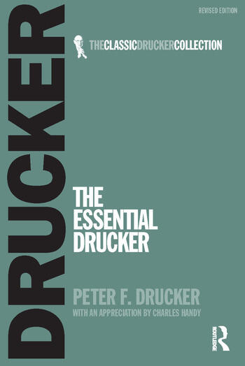The Essential Drucker book cover
