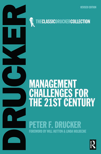 Management Challenges for the 21st Century book cover