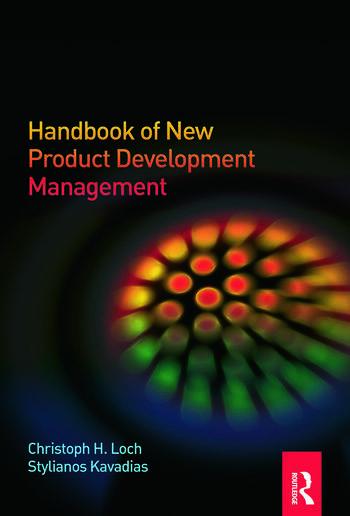 Handbook of New Product Development Management book cover