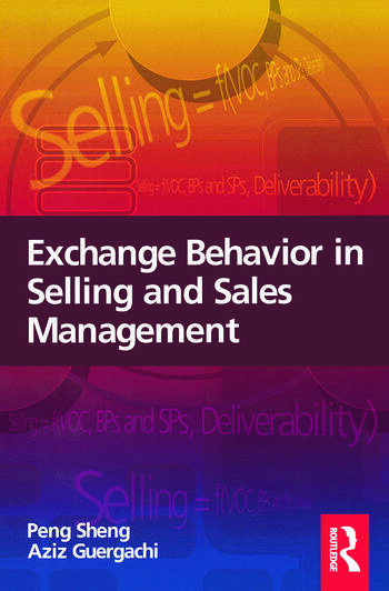 Exchange Behavior in Selling and Sales Management book cover