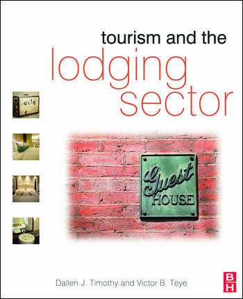Tourism and the Lodging Sector book cover
