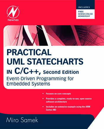 Practical UML Statecharts in C/C++ Event-Driven Programming for Embedded Systems book cover