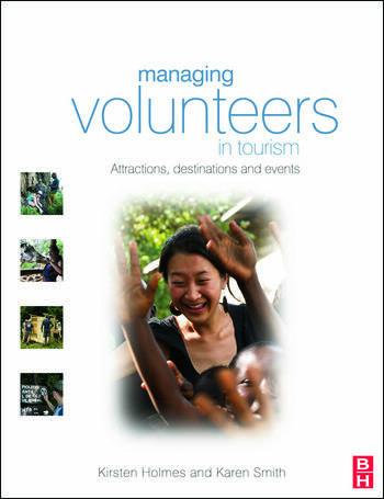 Managing Volunteers in Tourism book cover