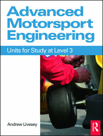 Advanced Motorsport Engineering book cover