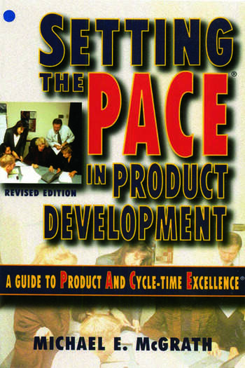 Setting the PACE in Product Development book cover