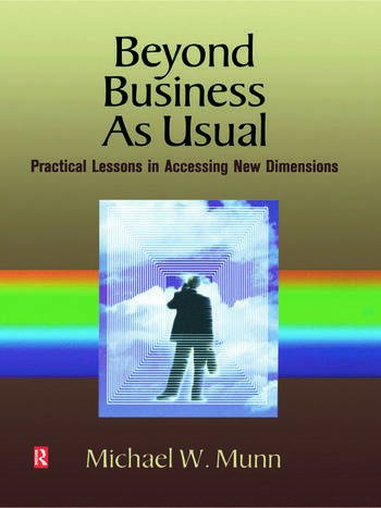 Beyond Business as Usual book cover