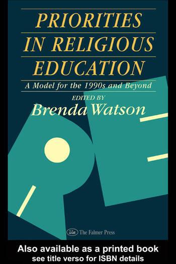 Priorities In Religious Education book cover