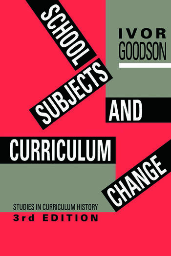 School Subjects and Curriculum Change book cover