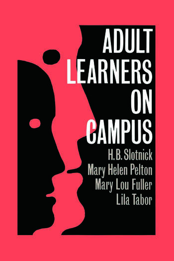 Adult Learners On Campus book cover