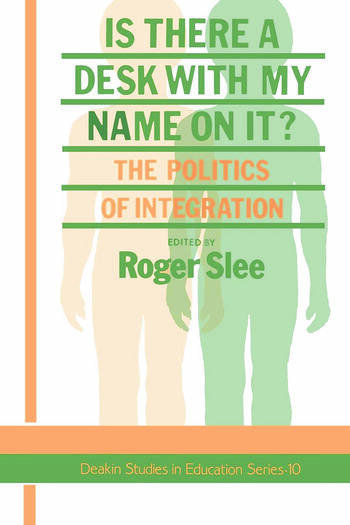 Is There A Desk With My Name On It? The Politics Of Integration book cover