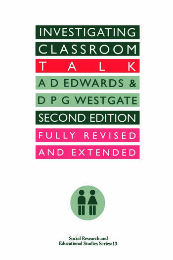 Investigating Classroom Talk book cover