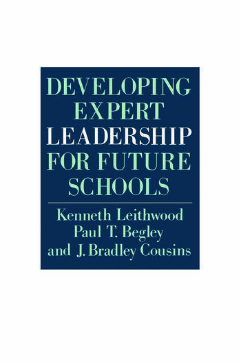 Developing Expert Leadership For Future Schools book cover