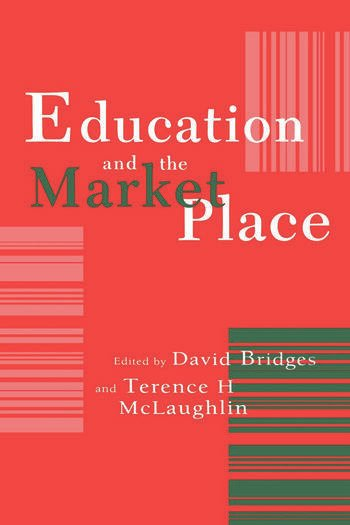 Education And The Market Place book cover