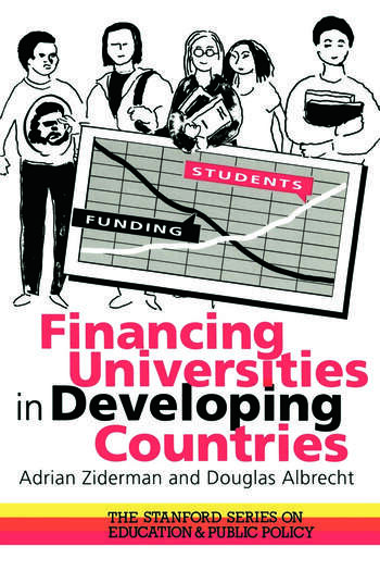 Financing Universities In Developing Countries book cover