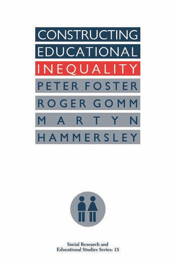 Image result for foster constructing educational inequality