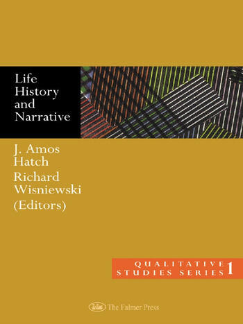 Life History and Narrative book cover