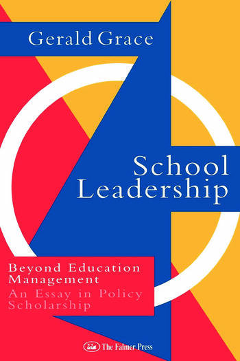School Leadership Beyond Education Management book cover
