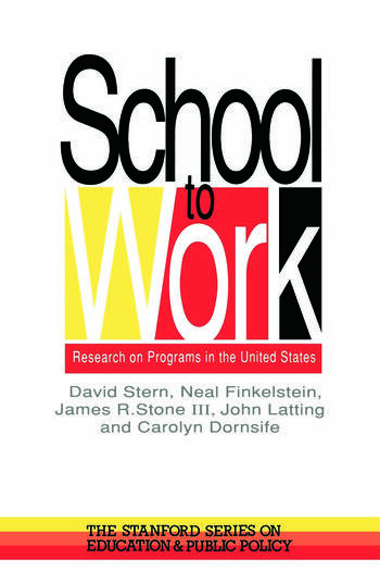 School To Work Research On Programs In The United States book cover