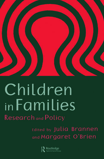 Children In Families Research And Policy book cover