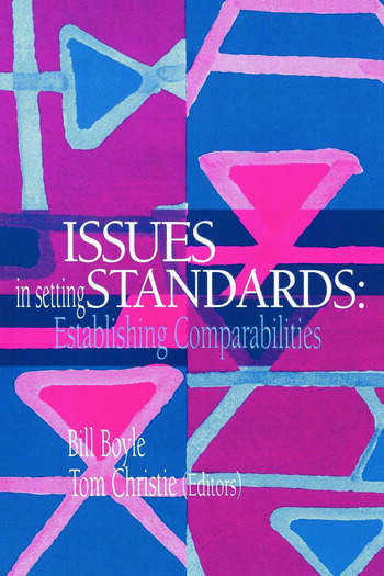 Issues In Setting Standards Establishing Standards book cover